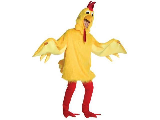 Fuzzy Chicken Adult Costume Standard