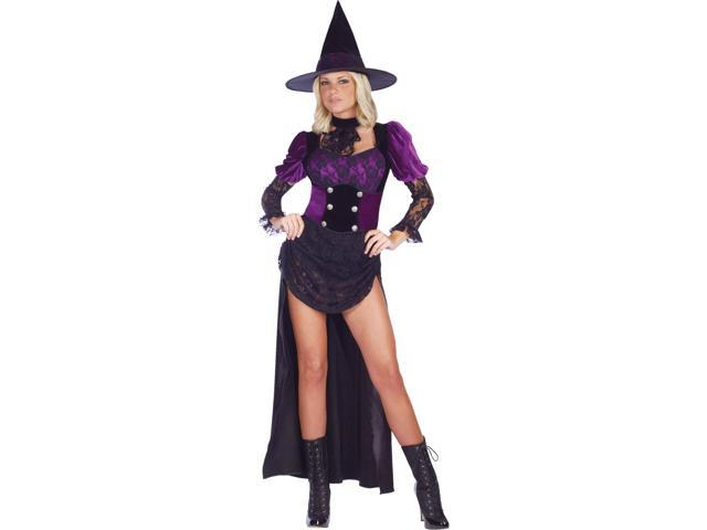 Burlesque Witch Dress Adult Costume Large