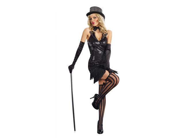 Sexy Cabaret Doll Costume Dress Adult X-Large
