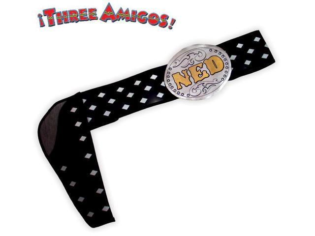 The Three Amigos Belt Ned Nederlander Costume Belt One Size