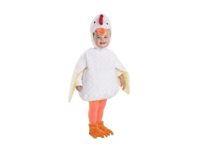 Belly Babies Chicken Costume Child Toddler Large 2T-4T