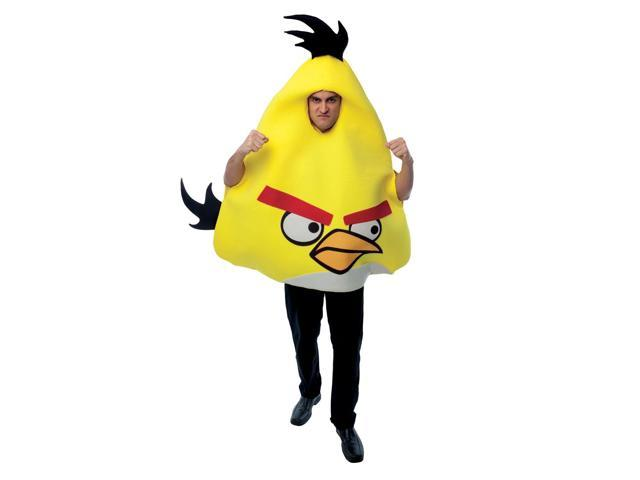 Angry Bird Yellow Bird Oversized Foam Adult Costume One Size Fits Most