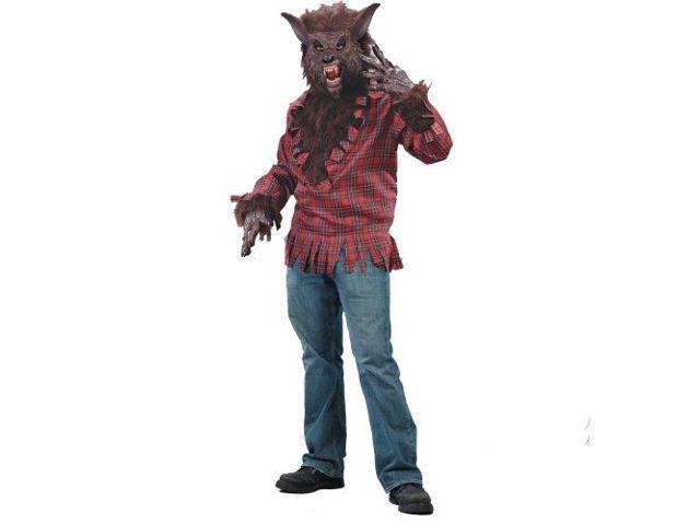 Werewolf Brown Adult Costume Standard