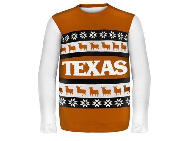 Texas Wordmark NCAA Ugly Sweater X-Large