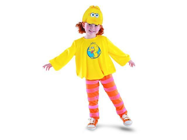 Sesame Street Big Bird Classic Costume w/ Headpiece Child 4-6