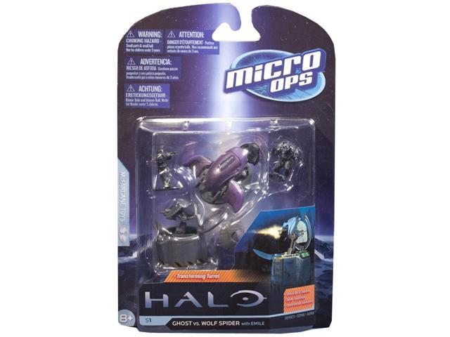 McFarlane Halo Micro Ops Series 1 Ghost Vs. Wolf Spider Turret