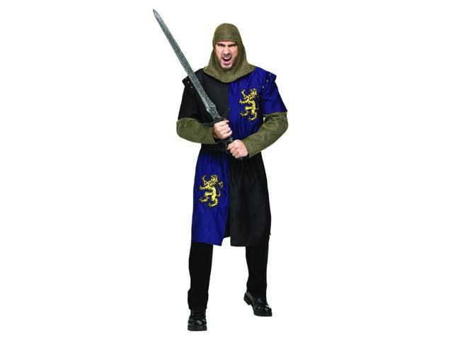 Renaissance Knight Costume Adult One Size Fits Most