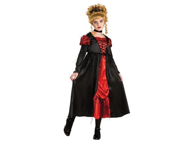 Vampiress Dracula Girl Dress Costume Child Small