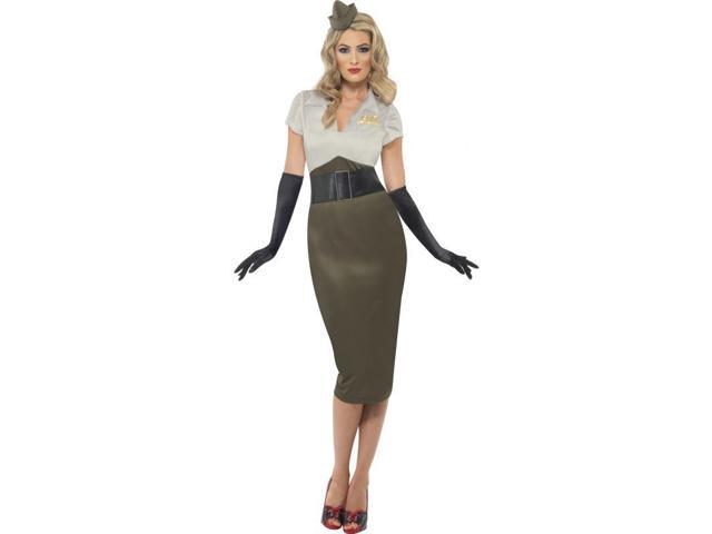 World War 2 Pin Up Army Spice Darling Adult Costume Medium