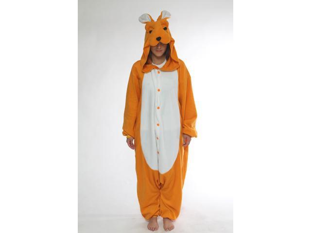 BCozy Kigu Unisex Animal Costume Pajama Adult Kangaroo Y One Size Fits Most