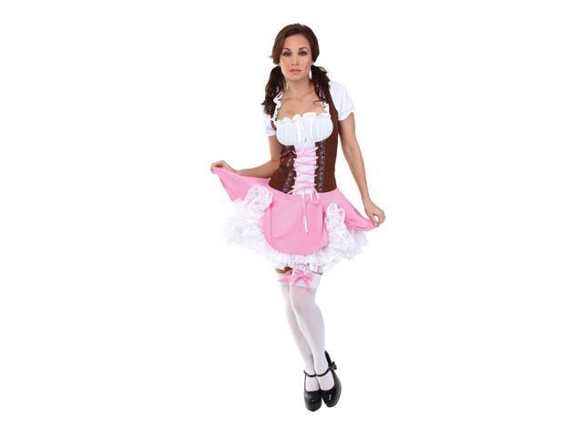 Swiss Bavarian German Heidi Costume Dress Adult Small