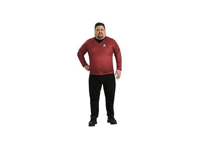 Star Trek Movie Deluxe Red Shirt Adult X-Large