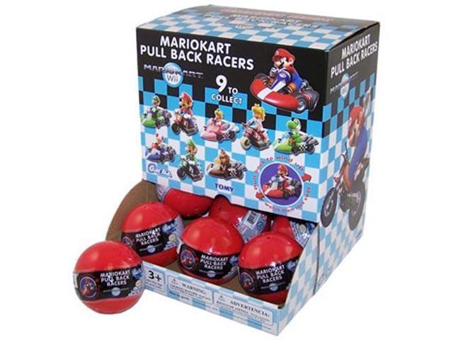 Super Mario Brothers Mario Kart Racers Gachaball Display Case Of 18