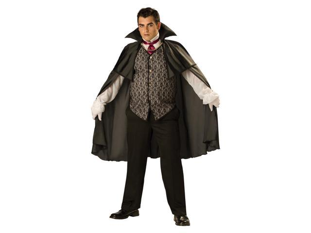 Midnight Vampire Cape & Vest Designer Costume Adult XX-Large