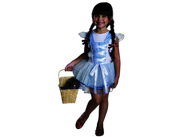 Wizard Of Oz Dorothy Tutu Child Costume Medium