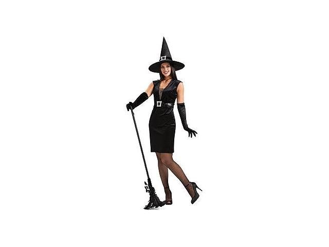 Cocktail Witch Black Costume Adult Standard