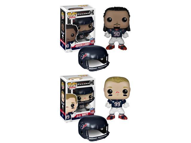 Houston Texans NFL Funko POP Vinyl Figure: Clowney & Watt Set Of 2