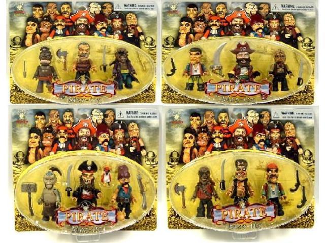 Pirate Mez Itz Figure Case Of 36 Figures