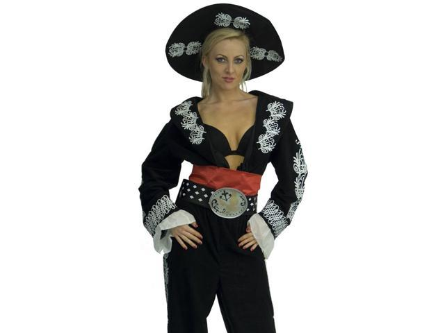 The Three Amigos Female Deluxe Costume Adult Standard