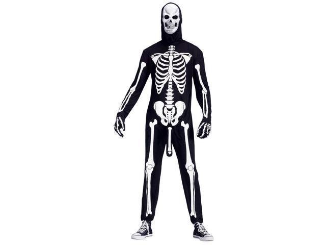Skeleboner Humorous Costume Adult Plus Standard