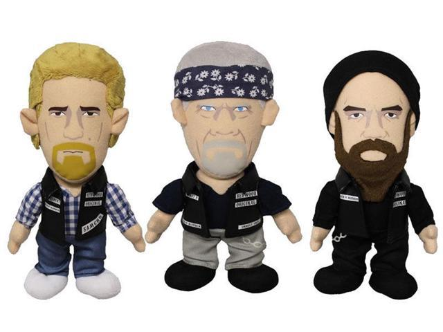 Sons Of Anarchy Plush Set of 3 with Jax Clay and Opie
