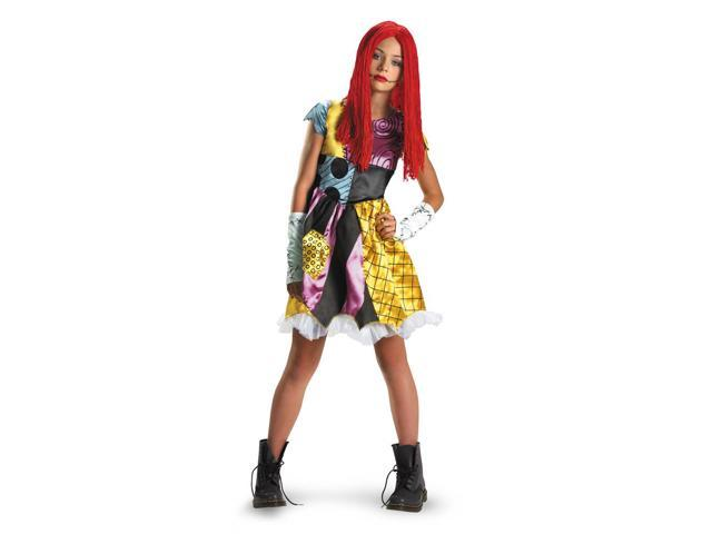 Nightmare Before Christmas Sally Costume Tween Large 10-12