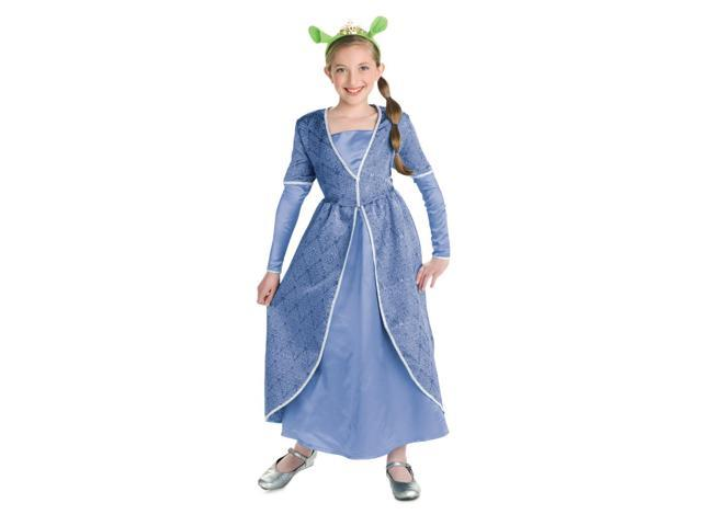 Shrek Princess Fiona Deluxe Child Costume Large