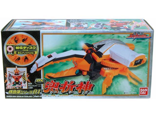 Power Rangers Shinkenger Dx Hercules Beetle God Kbuto Figure