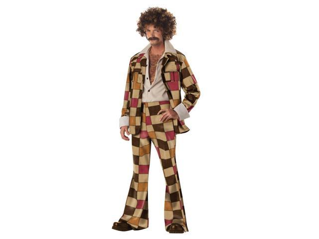 Disco Sleazeball 70'S Suit Adult Costume Medium 40-42