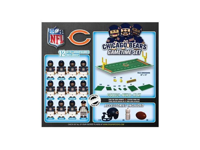 Chicago Bears NFL OYO Figure and Field Team Game Time Set
