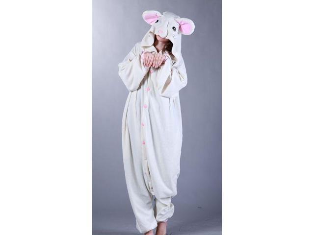 Mouse Kigurumi Cushzilla Animal Adult Anime Costume Pajamas