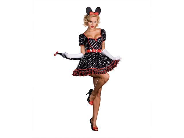 Sexy Mousin' Around Mouse Costume Adult X-Large