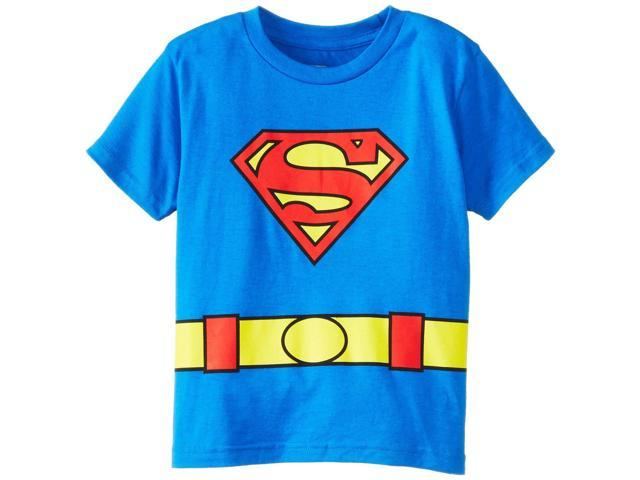 DC Comics Superman Logo Caped Tee Toddler Costume 2T