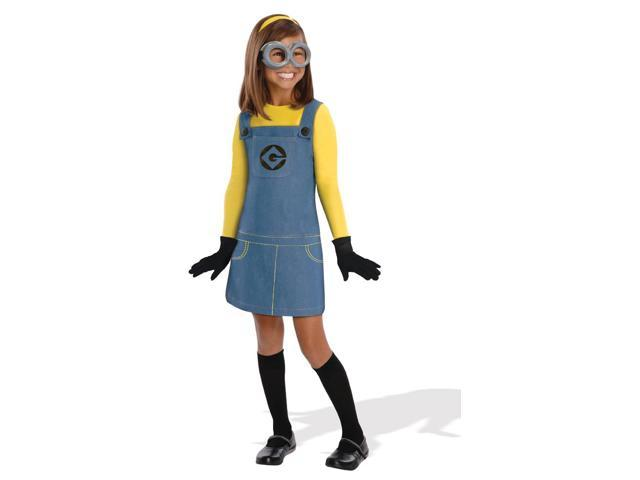 Despicable Me 2 Girl Minion Costume Child Small
