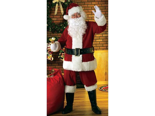 Deluxe Velvet Santa Suit Adult X-Large