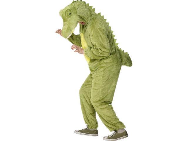 Crocodile Adult Deluxe Costume With Hood Large