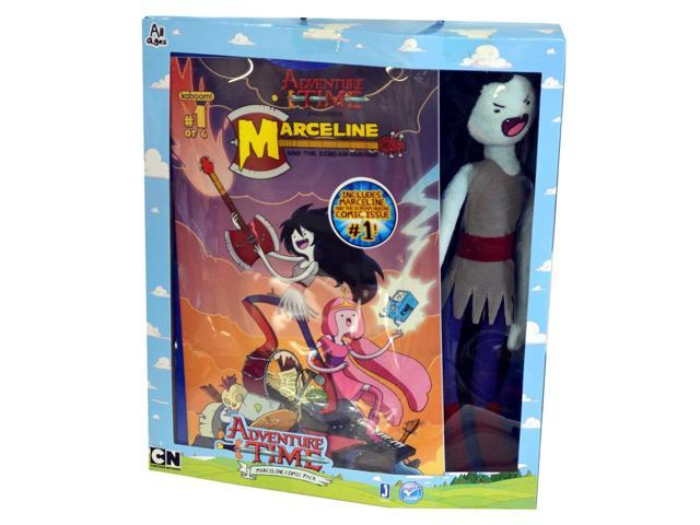 Adventure Time Fan Favorite Deluxe Plush Marceline Comic Pack