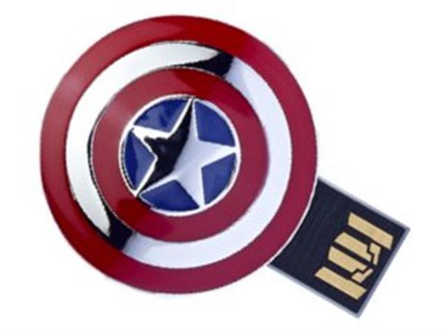 The Avengers USB 8GB Flash Drive Avengers Captain America