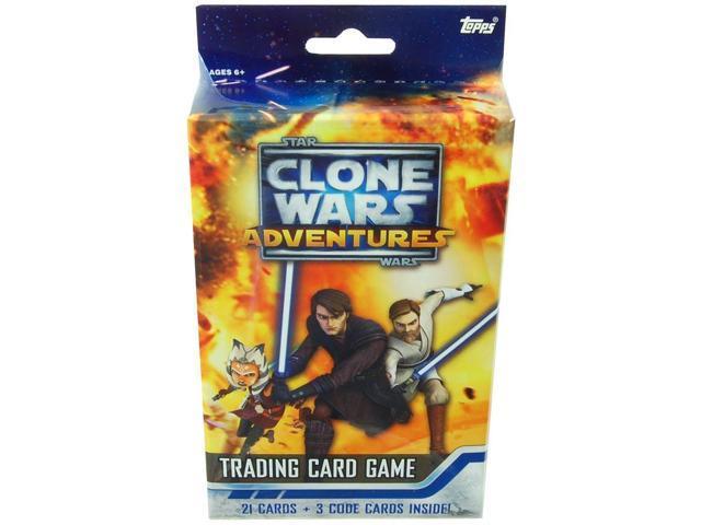 Star Wars Clone Wars Adventures Trading Card Game Starter Deck