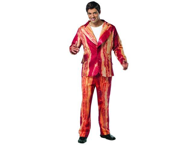 Sizzlin Bacon Suit Costume Adult One Size Fits All