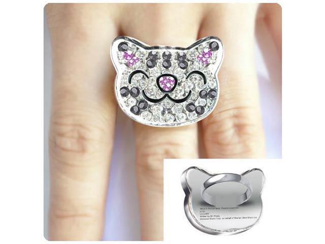 Big Bang Theory Soft Kitty Crystal Ring