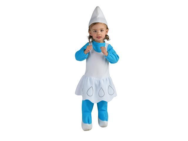 The Smurfs Movie Romper- Smurfette Baby Costume 0-6 Months