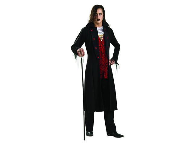 Royal Vampire Red & Black Dracula Costume Adult Standard