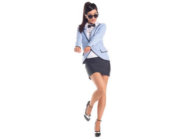 Sexy Korean Gangnam Pop Star Costume Adult Large