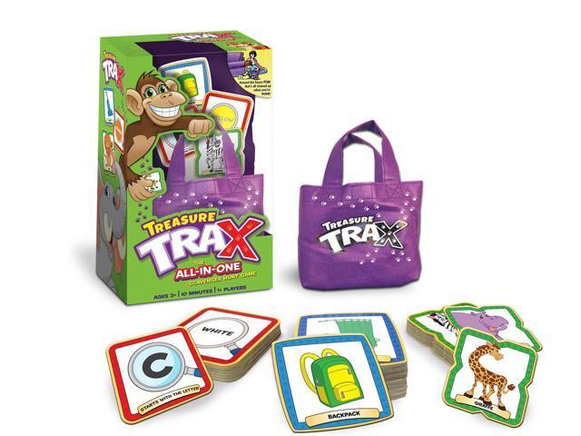 Treasure Trax Treasure Hunt Board Game