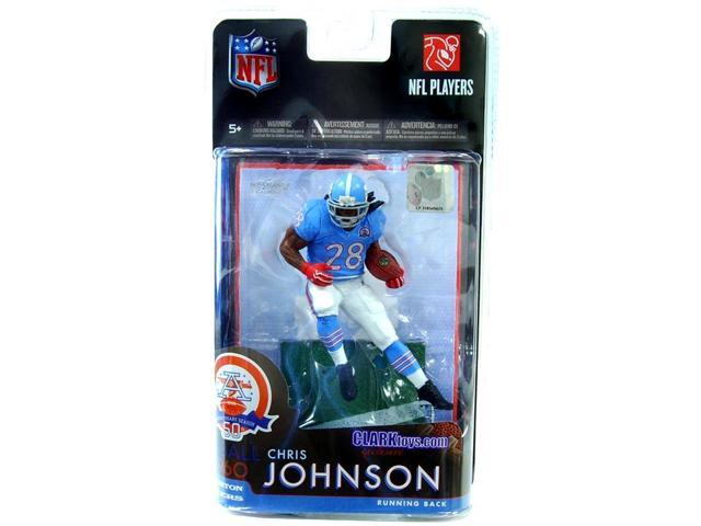 Mcfarlane NFL Exclusive Chris Johnson Houston Oilers Jersey