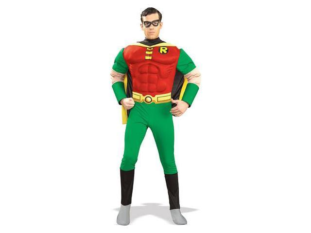 Batman Muscle Chest Robin Adult Costume Large