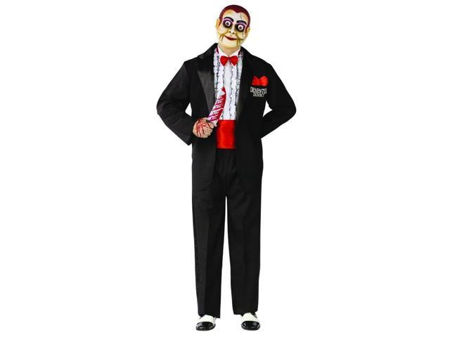 Ventriloquist Demented Dummy Costume Adult Standard