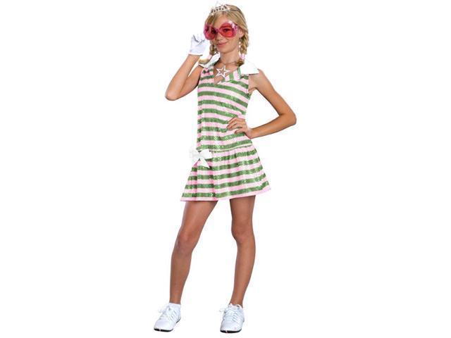 High School Musical Sharpay Golf Dress Child Costume Large