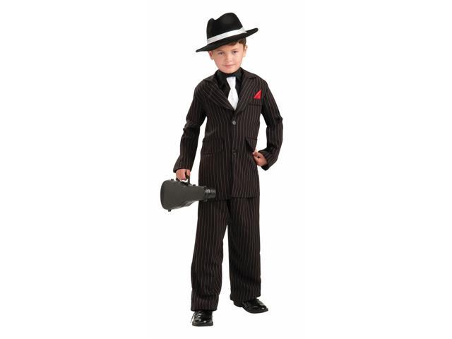 Gangster Roaring 20's Capone Costume Child Large